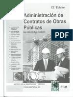 Administracion de contratos Obras Publicas Peru 2020