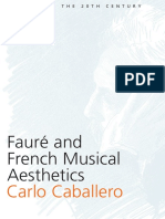 faure and french musical aesthetics