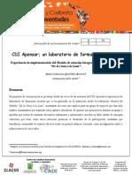 CDI Apensar; un laboratorio de formación docente.