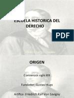Escuela Historica Del Derecho