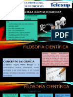 FILOSOFIA CIENTIFICA