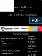 Lecture 9 - Nested Procedures, Other Instructions.ppsx
