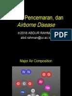 Udara, Kesehatan, dan Air-Borne Disease.ppt