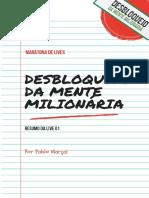 Live 01 - Desbloqueio da Mente Milionária