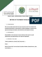 Work Method Statement for Block Work