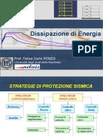 Strutture in c.a. - Dissipazione di Energia