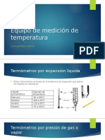 Equipo de medición de temperatura