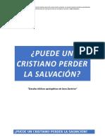 ¿Puede un cristiano perder la salvación.docx