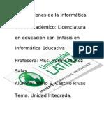 Unidad Integrada Mario Castillo (VERSIÓN MEJORADA)