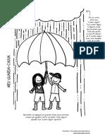 exercício do guarda-chuva