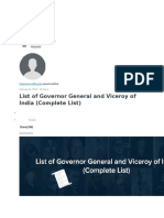 List of Governor General and Viceroy in India.docx