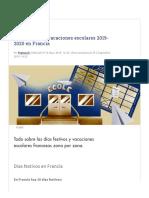 Días festivos y vacaciones escolares 2019-2020 en Francia.pdf