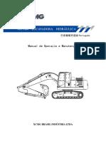 XE215BR - Manual de Operação de Manutenção