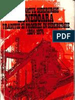 Combinatul Siderurgic Hunedoara Traditie Si Progres in Siderurgie 1884-1974