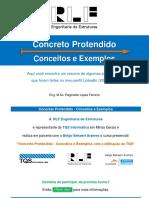 Concreto Protendido - Conceitos e Exemplos (Posts LinkedIn 2020-R0)