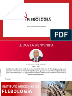 Diplomado en Flebología y Linfología 2020 México - Escleroterapia