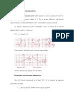 Definición de función exponencial