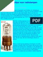 Reparatietips voor radiolampen