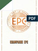 Présentation LEAFLET - EPC Champagne