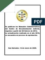 Manuales Administrativos, Centro de Documentación Judicial.pdf