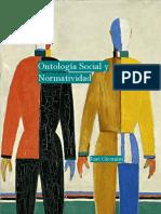 Ontología Social y Normatividad - José Giromini