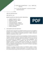 PROYECTO FOMENTO A LA LECTURA - CLUB DE LECTORES final