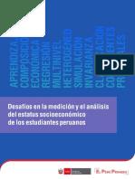 Desafíos en la medición y el análisis del estatus socioeconómico de los estudiantes peruanos
