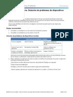 Practica de laboratorio 77 - Solución de problemas de dispositivos móviles