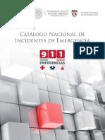 Catálogo Nacional de INCIDENCIAS