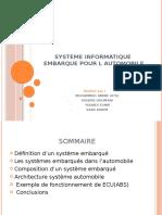 Systeme informatique  embarque pour l automobile.pptx