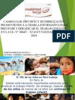 Presentación Erradicaciòn Trabajo Infantil Aldo