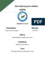 Metodologia de Análisis de Casos. Patricia.
