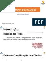 MECÂNICA DOS FLUIDOS_AULA01