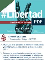 [PRESENTACIÓN] Luis E. Loría - #LibertadParaTrabajar en tiempos del Coronavirus