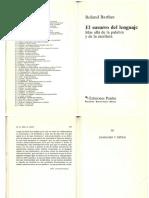 Barthes-División de los lenguajes