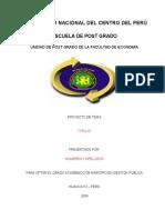 ESQUEMA de Proyecto e Informe de Tesis Doctorado[1]