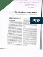 Deficit de Atención e Hipercinesia