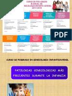 02. PATOLOGIAS GINECOLOGICAS MAS   FRECUENTES DURANTE LA INFANCIA III - Posgrado GIJ 2017.pdf