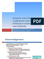 Ethanol and SCC in Petroleum Storage Tanks and Pipelines [Compatibility Mode]