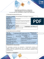 Guia de actividades y rúbrica de evaluación - Fase 0 - Lectura preliminar