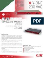 CET Power - Y-ONE 230Vac datasheet v1.2