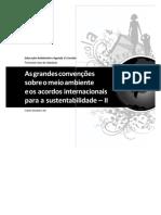Aula 4 As grandes convenções sobre o meio ambiente e os acordos internacionais para a sustentabilidade – II