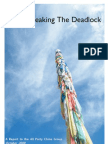 Tibet Breaking the Deadlock