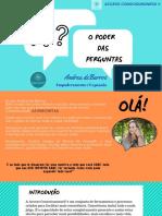 O PODER DAS PERGUNTAS - Andrea de Barros (1)