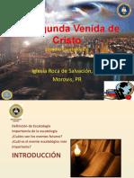 Escatología - Segunda Venida de Cristo.pptx