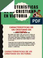 Características de un Cristiano en Victoria