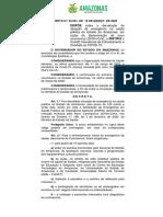 Decreto n ° 42.061, de 16 de março de 2020