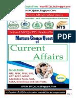 NTS current affairs solved mcqs.pdf