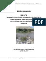 11.02 Estudio Hidrológico Puente San Jose