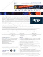 Program Sheets - Cyber Network Security - Associate